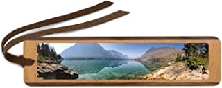 product image for Custom Handmade Wooden Bookmark - 1 Horizontal Image with Suede Tassel