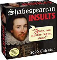 Shakespearean Insults 2020 Day-to-Day