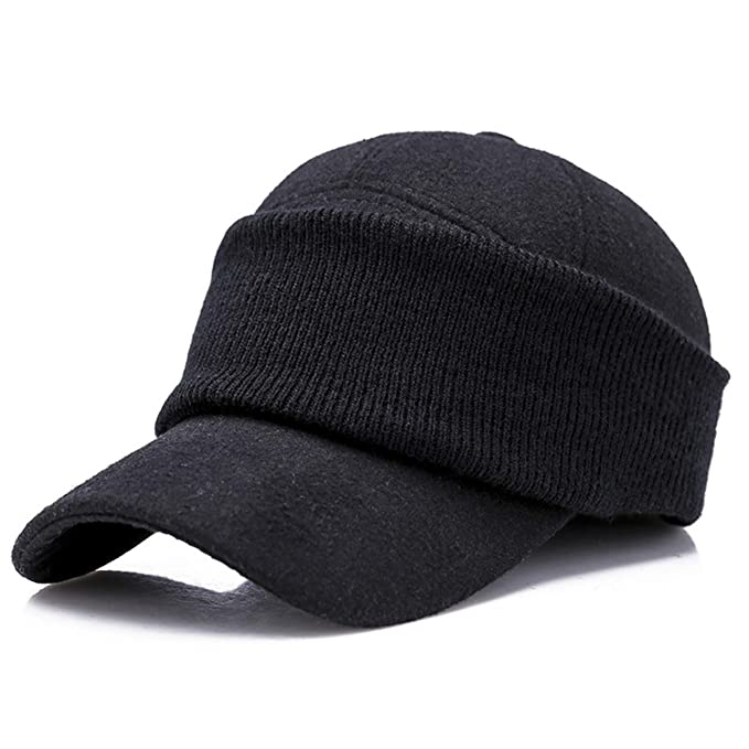 Jeremy Stone Brand Mens Winter Cap Ears Protection Baseball Cap Men Hat Gorras para Hombre Bone Trucker Caps Casquette Black at Amazon Womens Clothing ...