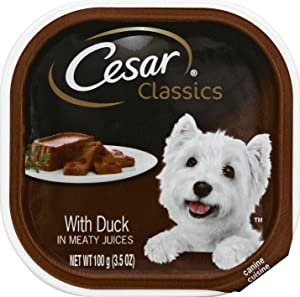Cesar Pet Food Cesar Select Chicken Liver, 24 Count ,3.5 oz