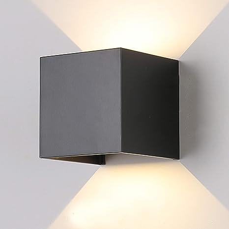 12W Led Moderno Lampade da Parete per Interni//Esterno Su e Giù Design IP65