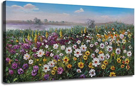 Canvas Art Picture Print Wall Photo Plants Floral Meadow Vintage Shabby Chic
