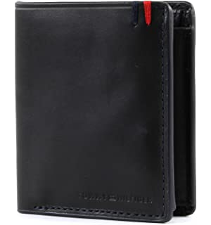 Tommy Hilfiger Corp Webbing Ns Trifold, Portefeuilles homme, (Black), 8x8.5x10.5 cm (B x H T)
