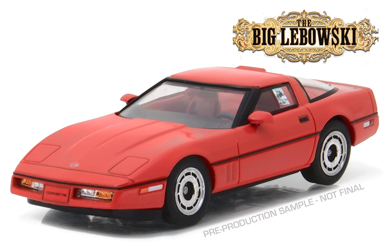 - Little Larry Sellers 1985 Chevrolet Corvette C4-86497 1:43 Scale The Big Lebowski 1998 GreenLight -