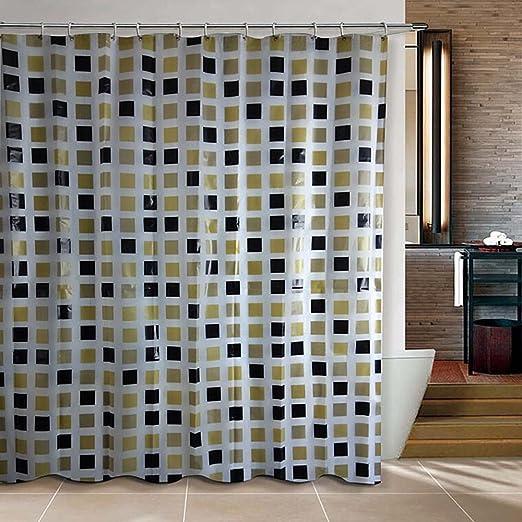 Amazon.com: Riverbyland Shower Curtains PEVA Square 72