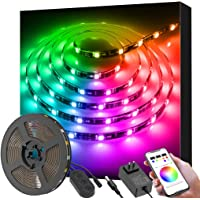 Govee 9.8Ft Color Changing Light Strips With Bluetooth & Music DIY For Room / Kitchen / Home / Party / Halloween & Christmas
