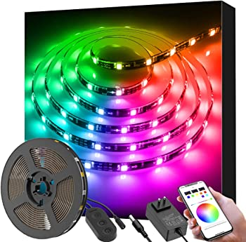Govee 9.8Ft Color Changing Light Strips With Bluetooth & Music