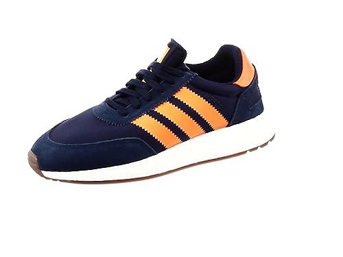 huge discount ecb7a 498dc Adidas I-5923 Navy Gum Grey Five Bleu Marine Orange FR  40