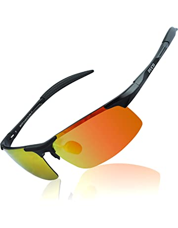 9c03e953f2 Duco Men s Driving Sunglasses Polarized Glasses Sports Eyewear Fishing Golf  Goggles 8177S