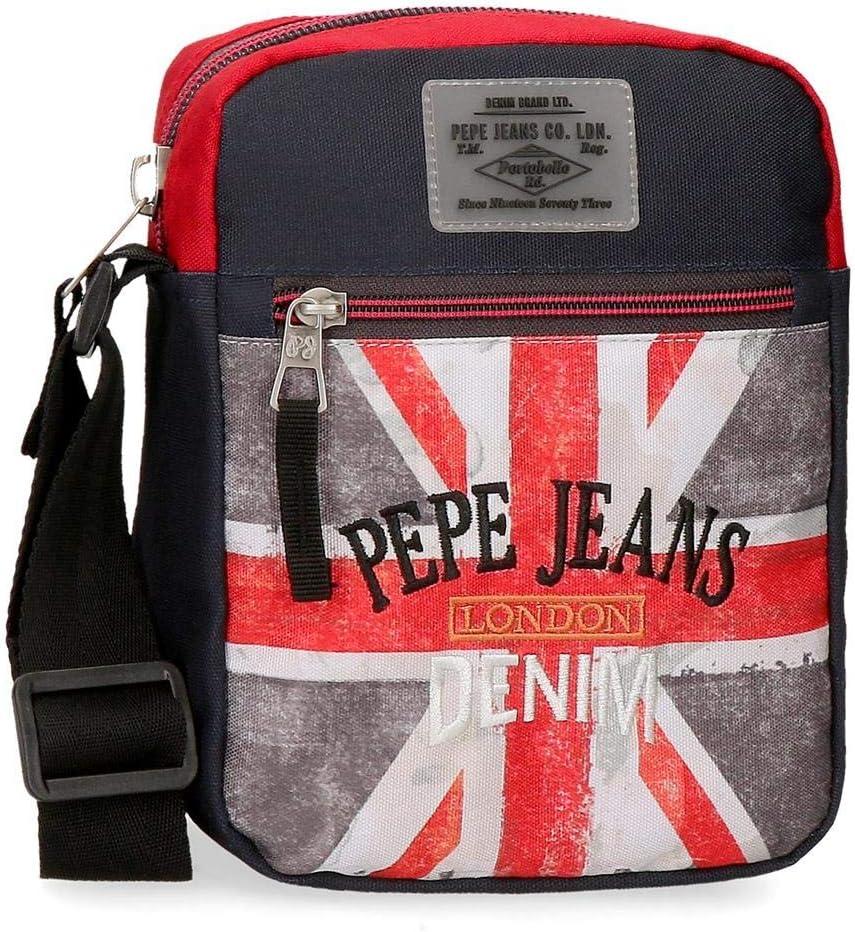 Bandolera Pepe Jeans Calvin, Multicolor, 21 cm