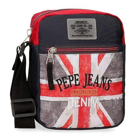 Pepe Jeans Calvin Bolso Bandolera, 21 cm, 2.5 litros ...