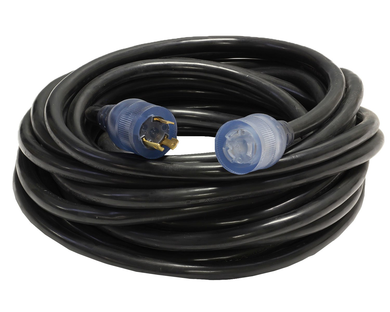 100-Foot 10/3 30A-250V NEMA L6-30 Lighted Seaming Machine Cord + Your Name on Cord