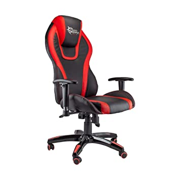 WHITE SHARK Cobra Silla Gaming de Escritorio Ergonómica con Brazos, Altura Ajustable Respaldo Inclinable, Oficina, Escritorio: Amazon.es: Electrónica