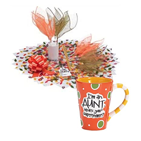 Amazon Com Gifts For Aunt Candy Bouquet Coffee Mug Bundle