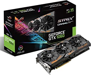 ASUS Graphic Cards STRIX-GTX1060-A6G-GAMING