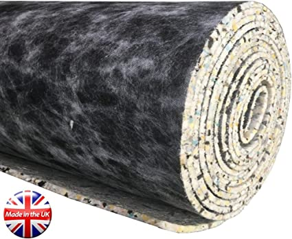 10mm Thick Pu Carpet Underlay 15 Square Meters Roll Uk Manufactured Quality Feel Hard Wearing Amazon Co Uk Kitchen Home