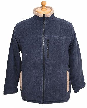 aef0daf13b9d3 Bonart Kids Cumbrae Fleece Jacket Navy: Amazon.co.uk: Clothing