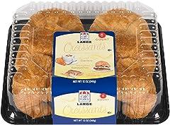 Cafe Valley Large Croissant, 6Count, 12 Oz (Frozen)