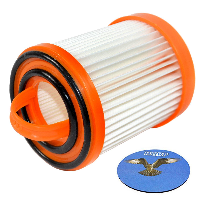 HQRP Dust Cup Filter for Eureka 5843AV, 5843AZ, 5840A, 5840AV, 5841A, 5841AS, 5841AV, 5841BV, 5841BS, 5842A, 5842AV Litespeed Whirlwind Bagless Vacuum Cleaners Coaster