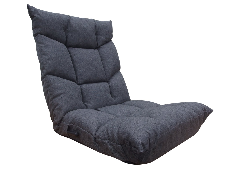 ネクスト(Next) 座椅子 ブラン 低反発ウレタン レバー式 14段階 リクライニング グレー B06XYLFVK2  グレー