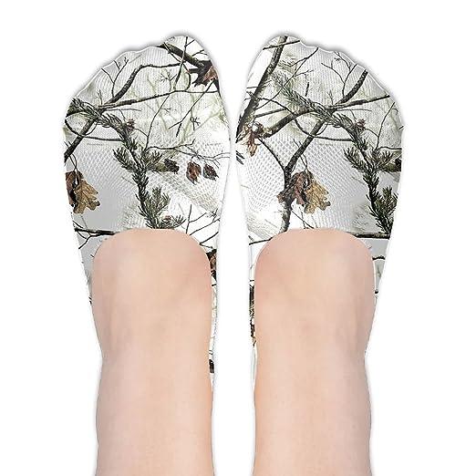 edeeeae043939 White Realtree Camo No Show Socks Liner Socks Low Cut Ped Socks Casual  Hidden Thin Socks For Women at Amazon Women's Clothing store: