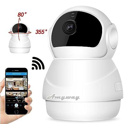 Cámaras seguridad IP Cámaras vigilancia inalámbricas Amway WIFI Supervisan operan forma remota con teléfonos inteligentes Función ...