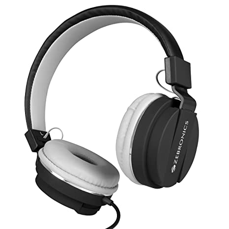 Amazon.in: Buy Zebronics Storm Headphones with Mic Online at Low Prices in  India | Zebronics Reviews & Ratings