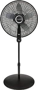"Lasko 20"" Oscillating Remote Control Pedestal Fan"