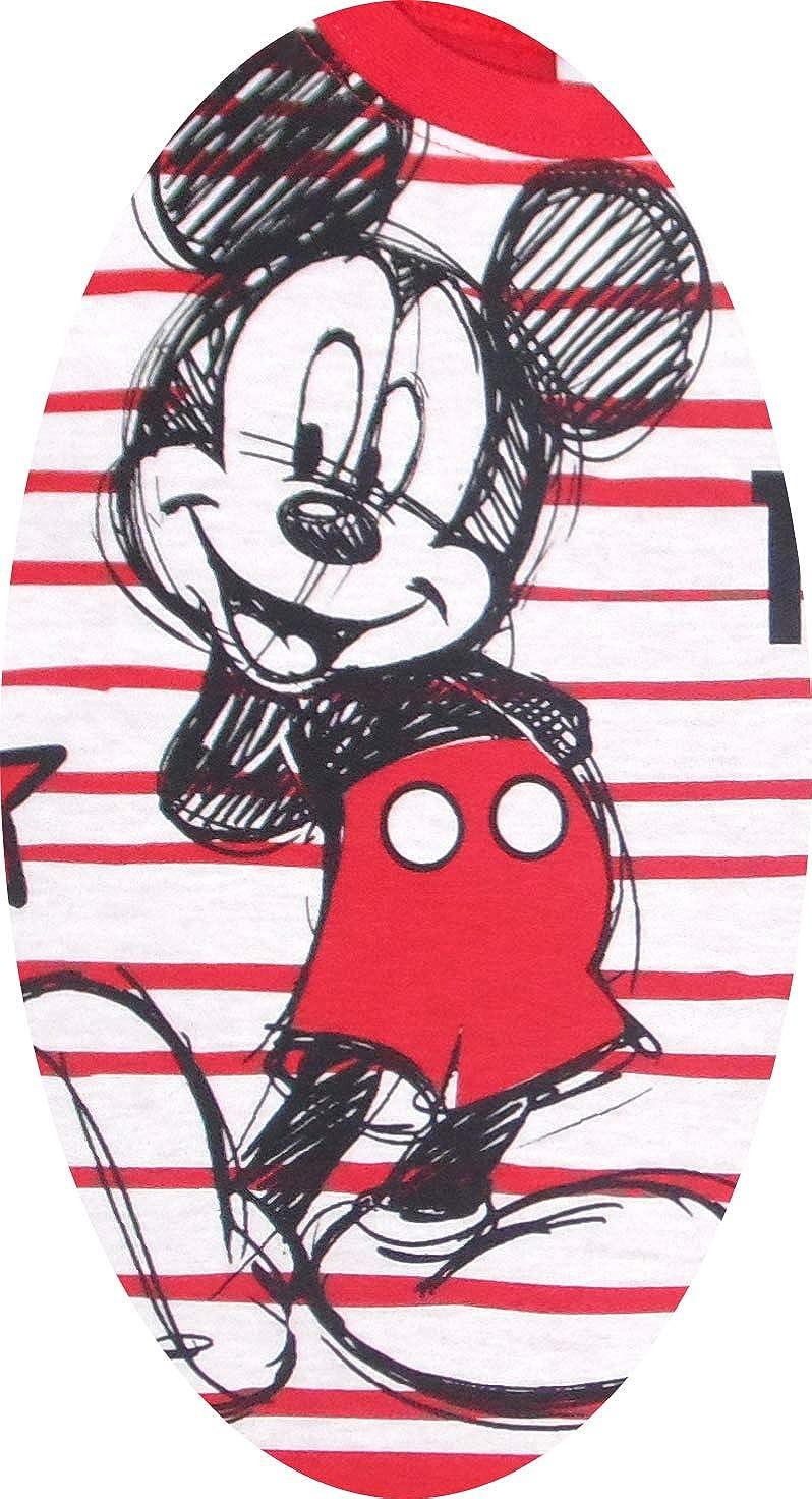 Disney Mickey Pijama de Dos Pieza para ni/ños Mickey 100/% algod/ón