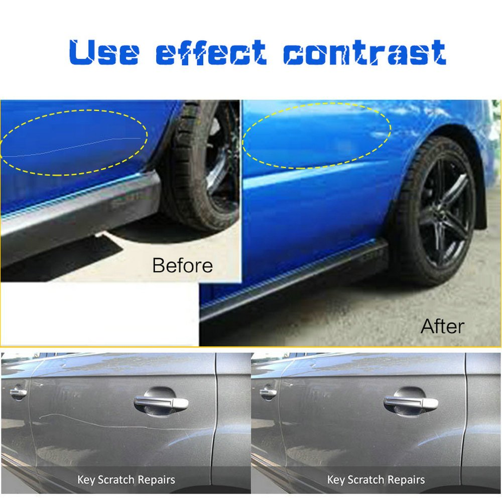 Amazon excoup magical fix car scratch repair cloth polish for amazon excoup magical fix car scratch repair cloth polish for light paint scratches remover scuffs on surface repair automotive solutioingenieria Images