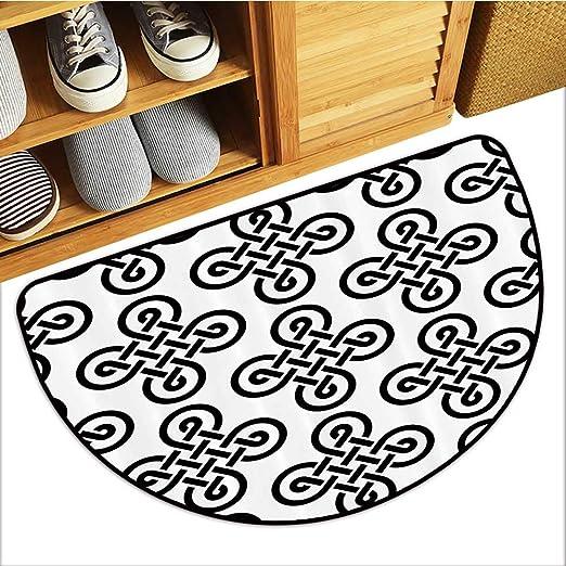 TableCovers&Home Cojín semicircular eOld shi irlandés con ...