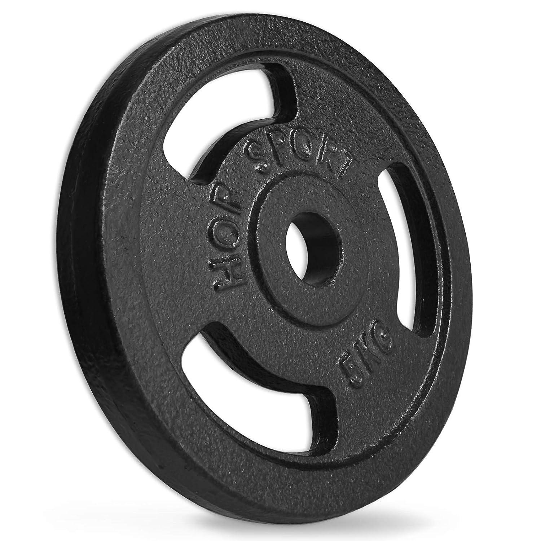 Hop-Sport Guss Hantelset Curlstange SZ-Stange Curl Hantel Set 27kg 47kg oder 67kg