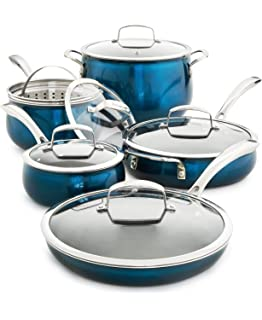 11 Piece Quality Home Cookware Set By Belgique | Non-Stick Aluminum | A High
