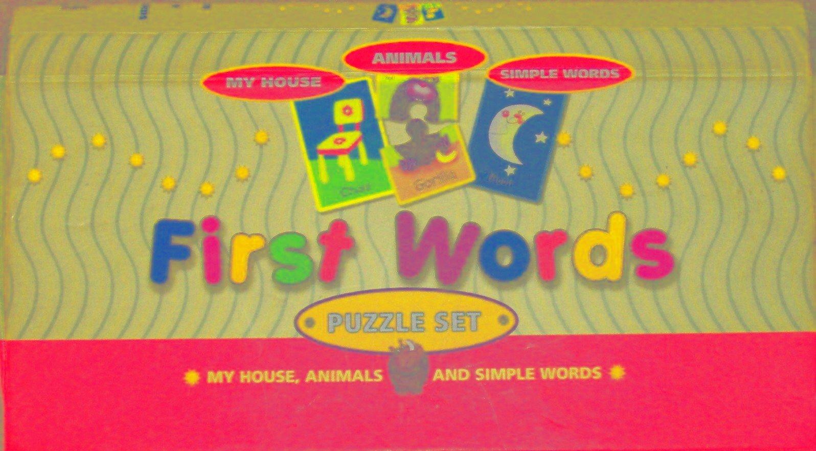 Download First Words Puzzle Set pdf epub