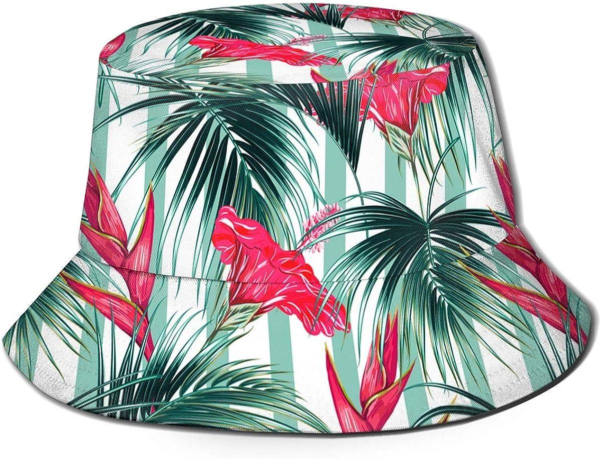 Floral Motif Unisex Bucket...