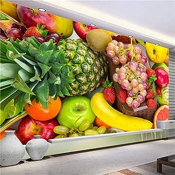 Wangsss Mural Fondo De Pantalla En 3d Foto Tienda De Frutas