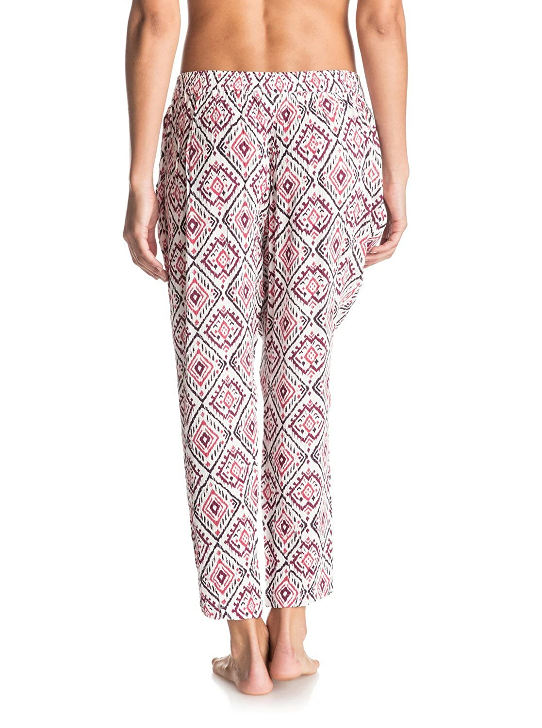 344436cb883e0 Amazon.com  Roxy Juniors Electric Mile Printed Pull on Pant  Clothing