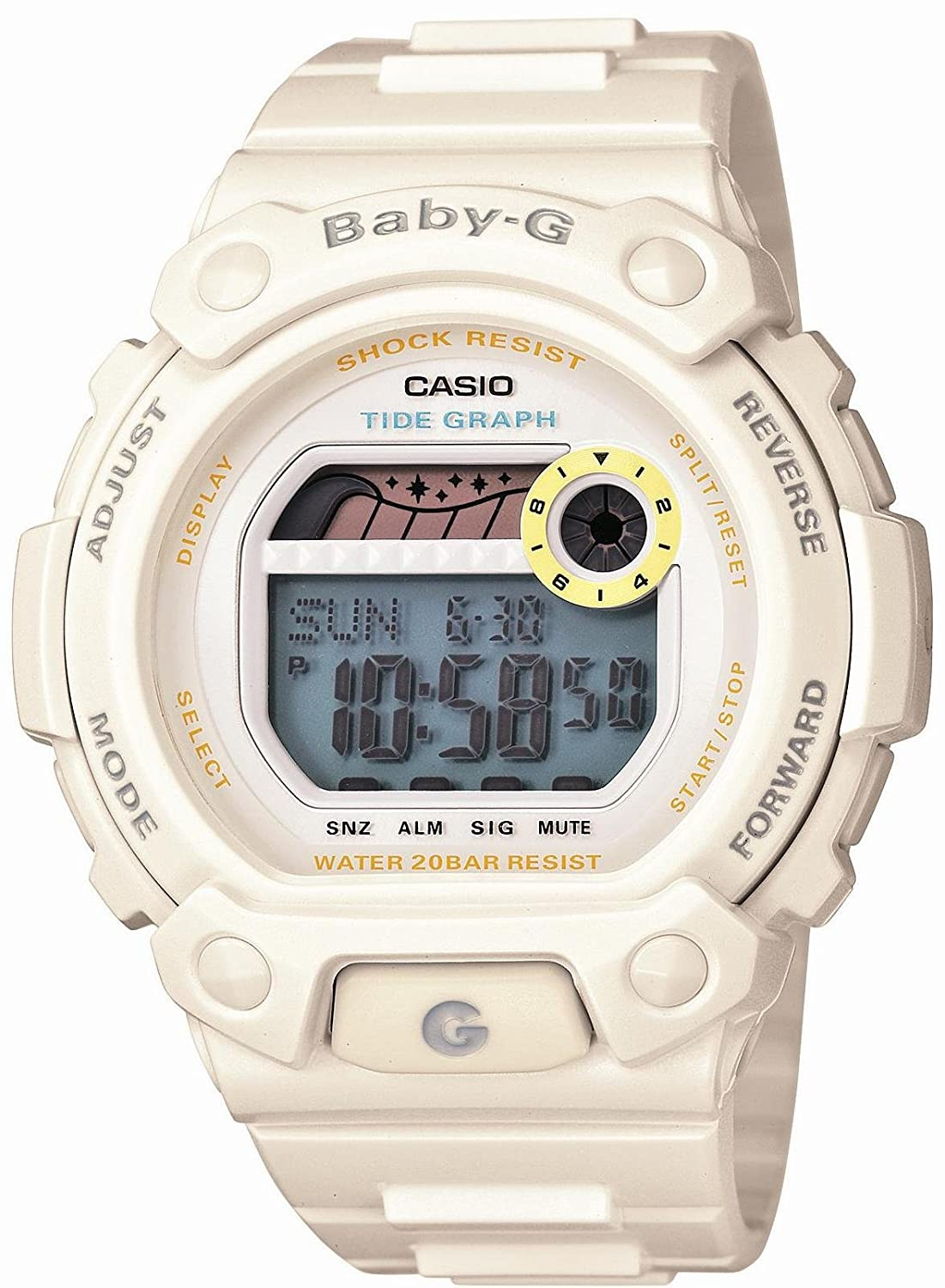 Amazon.com  Casio Baby-G G-LIDE Lady s Watch BLX-102-7JF (Japan Import)   Watches c35a23a5afce