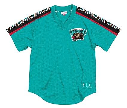 Mitchell & Ness Vancouver Grizzlies NBA Equipo Ganador de la Hombres Malla Jersey Camiseta, ...