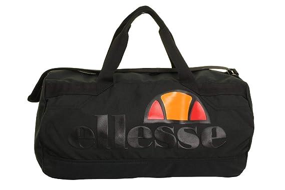 7f0e91a1e640 ellesse Pello Barrel Bag Black  Amazon.co.uk  Clothing