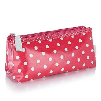 Victoria Green Polka Dot Folding Make-Up Bag  Amazon.co.uk  Beauty a8e0b666ea43d
