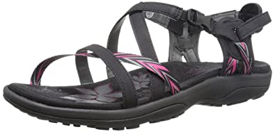882759f22cd8 Skechers Women s Regga Slim Keep Close Gladiator Sandal