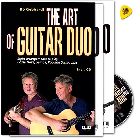 The Art of Guitar Duo - Libro de partituras con CD, diseño de ...
