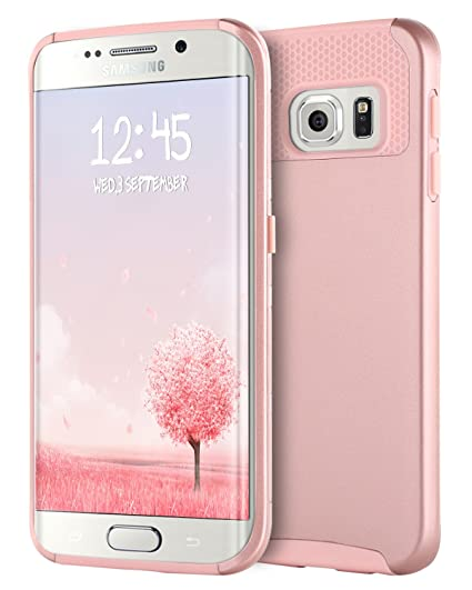 amazon com bentoben galaxy s6 edge case, samsung galaxy s6 edgebentoben galaxy s6 edge case, samsung galaxy s6 edge case, slim hybrid dual layer