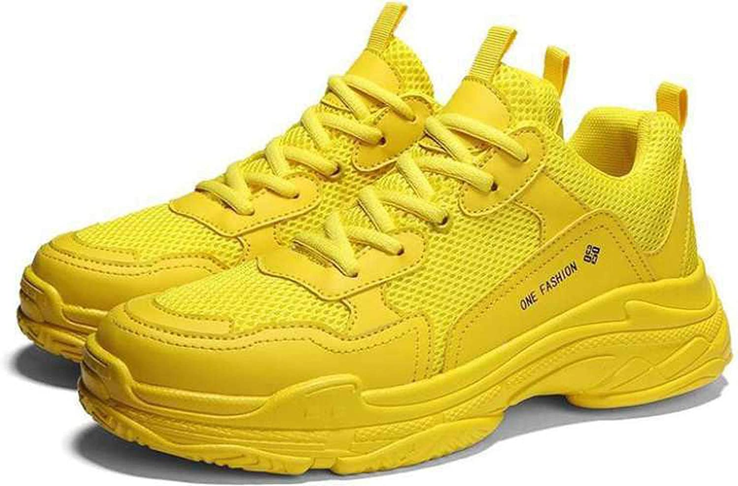 Stylish Casual Yellow Sneaker Shoes