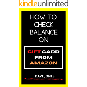 How to Check Balance on Gift Card from Amazon: How to Check Gift Card Balance