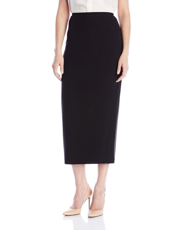 6b0507de2 Kasper Women's Stretch Crepe Column Skirt at Amazon Women's Clothing store: