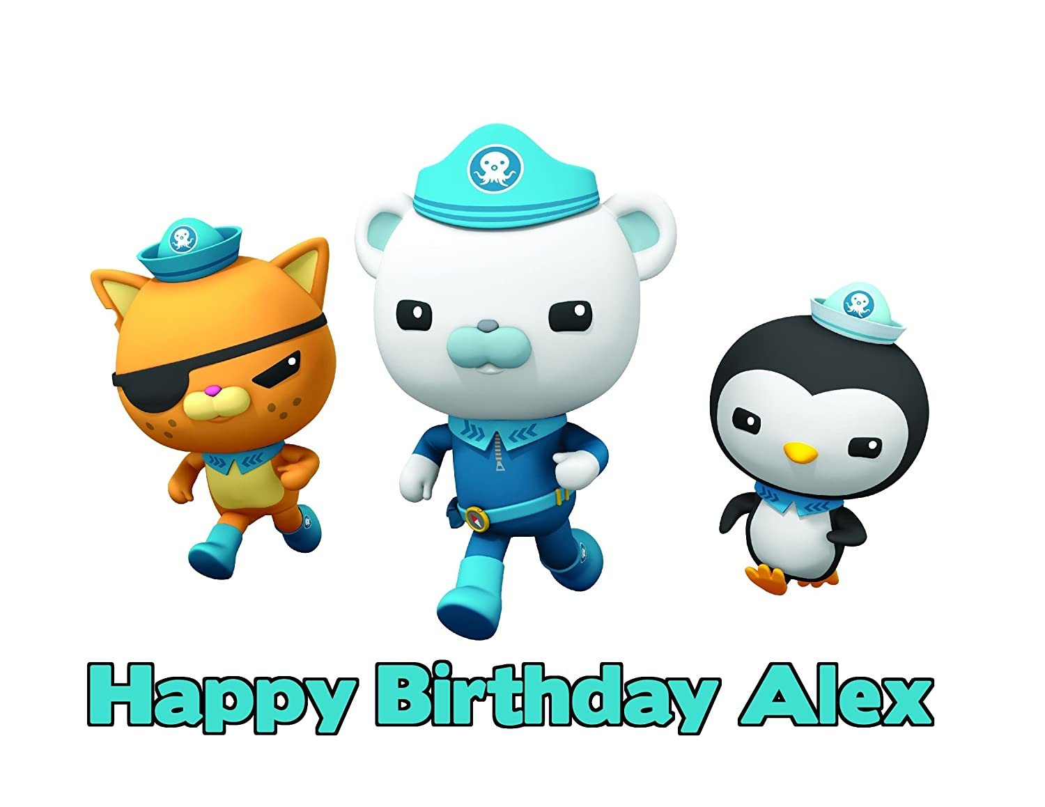 Edible Cake Images Octonauts : The Octonauts Edible Image Cake Toppers