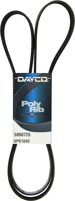 Dayco 5060725 Serpentine Belt