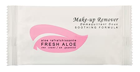 Fresh Aloe Make-up Remover Wipe for AirBnB, VRBO, Vacation Rental Case of 100